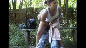 Sexo no meio do mato com safada de Bofete sp